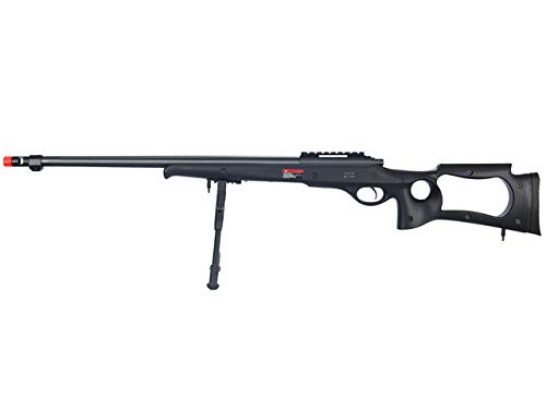 Well  1 Well MB10 Airsoft Sniper Rifle W/Bipod - Black