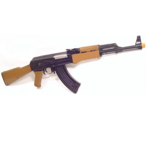 BBTac Airsoft Rifle 3 ak 47 style airsoft electric gun completed kit with magazine & bb(Airsoft Gun)