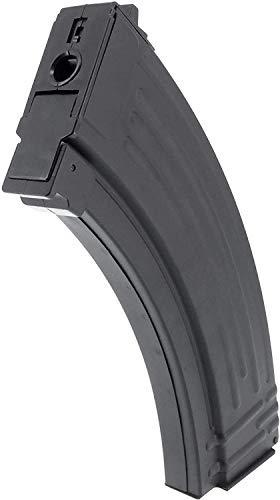 SportPro  3 SportPro Jing Gong 520 Round Flash Metal High Capacity Flash Magazine for AEG AK47 AK74 3 Pack Airsoft - Black