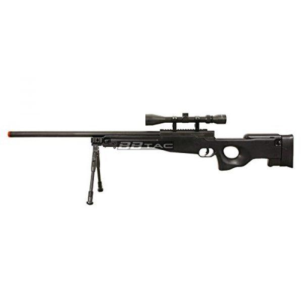 BBTac Airsoft Rifle 4 BBTac b96 awp airsoft sniper rifle with 3-9x40 scope and bi-pod warrior 1(Airsoft Gun)
