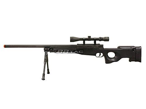 BBTac  4 BBTac b96 awp airsoft sniper rifle with 3-9x40 scope and bi-pod warrior 1(Airsoft Gun)