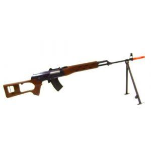 Jing Gong (JG) Airsoft Rifle 1 Jing Gong JG AK SVD AK47 Airsoft AEG Sniper Rifle