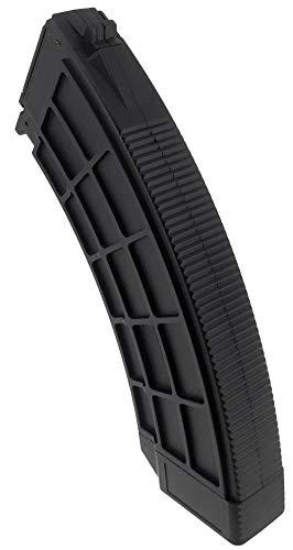 SportPro  4 SportPro 520 Round Polymer Thermold Waffle High Capacity Magazine for AEG AK47 AK74 Airsoft - Black