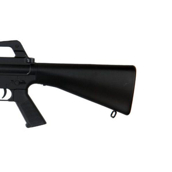 Well Airsoft Rifle 4 Well m16-a3 RIS Spring Airsoft Gun Assault Rifle fps-340 w/Aiming Sight, Flashlight, high Capacity Magazine(Airsoft Gun)