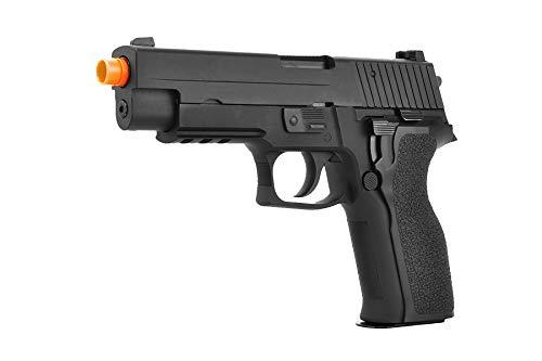 Lancer Tactical  3 Lancer Tactical WE Tech F226 E2 MK25 Gas Blowback GBB Airsoft Pistol Black 340 FPS
