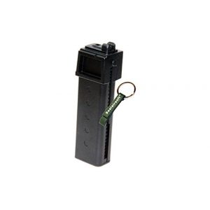 KJW Air Gun Magazine 1 KJ Works 30rds Airsoft Metal 6mm CO2 Magazine For KC-02 .22 GBB Black -Mobile Ring Included