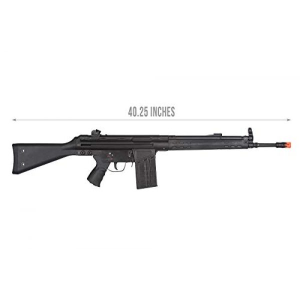Lancer Tactical Airsoft Rifle 2 Lancer Tactical LCT Stamped Steel Full Stock LC-3A3-S Airsoft AEG Rifle Black