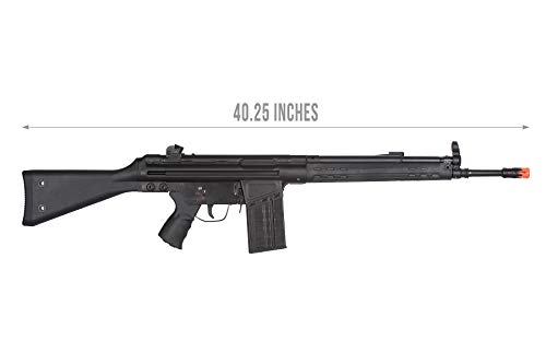 Lancer Tactical  2 Lancer Tactical LCT Stamped Steel Full Stock LC-3A3-S Airsoft AEG Rifle Black