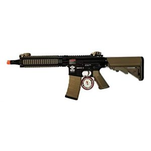 G&G Airsoft Rifle 1 G&G CM18 MOD1 Combat Machine AEG Metal Gears Airsoft Gun - Black