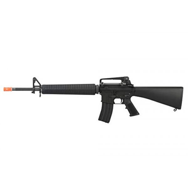 Lancer Tactical Airsoft Rifle 1 Lancer Tactical WE M16A3 Open Bolt Full Metal Gas Blowback Airsoft GBBR Rifle Black