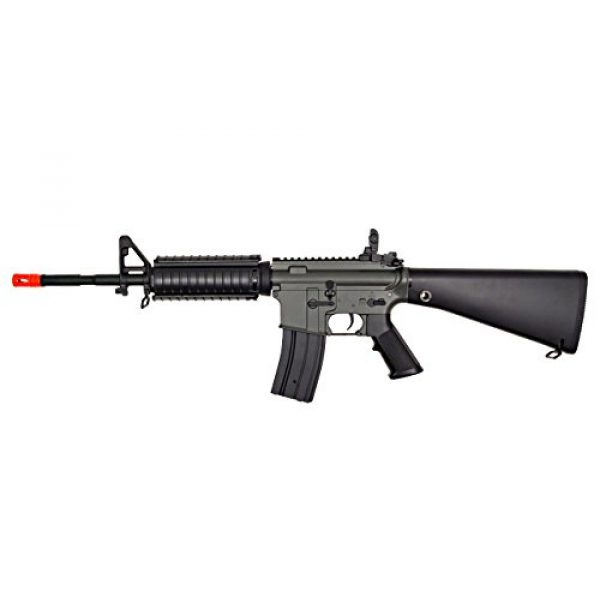 Jing Gong (JG) Airsoft Rifle 1 JG aeg-m4sr16 nicads/charger included-metal gearbox(Airsoft Gun)