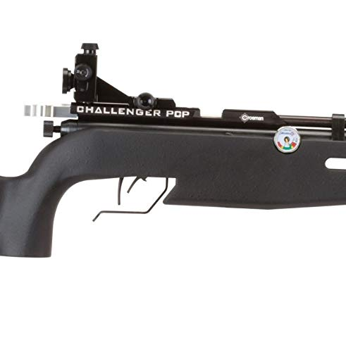 Crosman  3 Crosman CH2009S Challenger PCP and CO2-Powered .177-Caliber Pellet Competition Air Rifle With Precision Diopter System