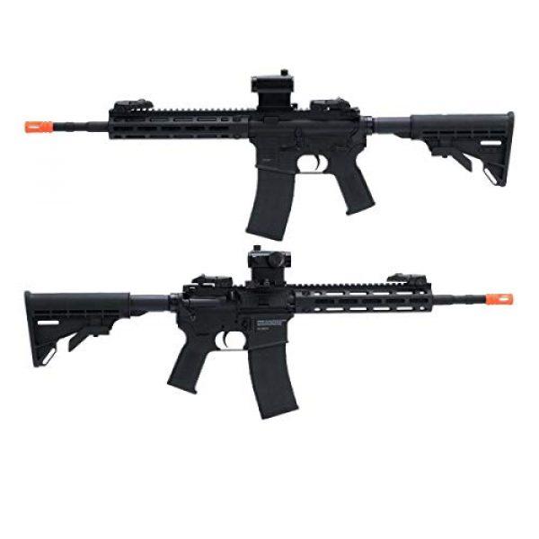 Tippmann Airsoft Airsoft Rifle 3 Tippmann Airsoft Marker 94160 - Orange Tip Semi/Full 366-400 fps 1.5j USA
