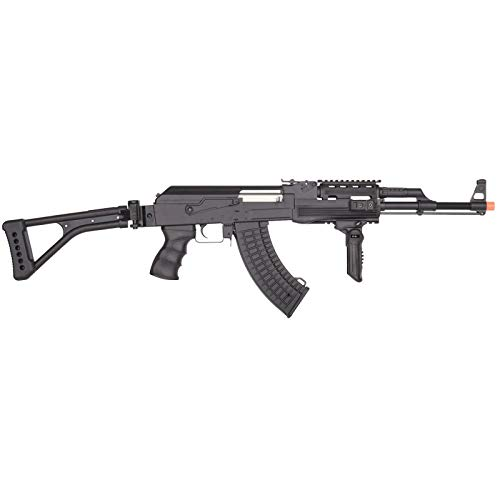 Lancer Tactical  2 Lancer Tactical LT-728U AEG Airsoft Rifle with Folding Stock with Battery and Charger Black