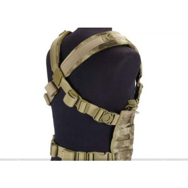 enmu pancho Airsoft Tactical Vest 2 Condor Gen.4 Tactical MOLLE OPS Chest Rig for airsoft gaming - A-TACS