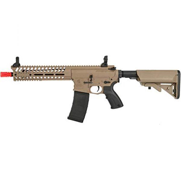 Lancer Tactical Airsoft Rifle 1 Lancer Tactical Elite Electric Recoil Multi Mission 10.5 RIS Carbine (MMC) AEG (Tan/Polymer)