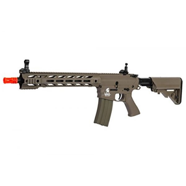 Lancer Tactical Airsoft Rifle 1 Lancer Tactical Interceptor SPR (Dark Earth LT-25T)