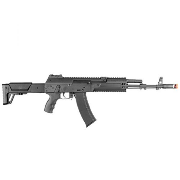 BBTac Airsoft Rifle 7 BBTac AK-47 Airsoft Gun, Electric Airsoft Assault Rifle Fully Automatic AEG with Battery & Charger, Magazine, Shoots 6mm Airsoft Pellets