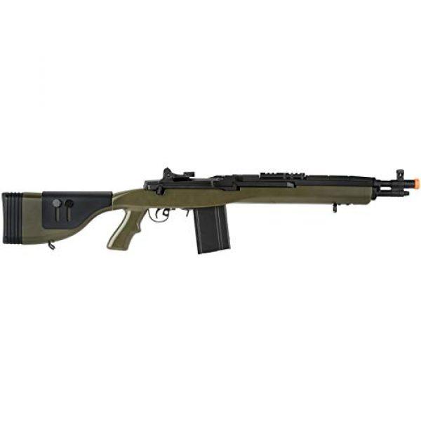 "Lancer Tactical Airsoft Rifle 2 Lancer Tactical LT-732 DMR Stock 38"" M14 SOCOM Airsoft AEG Rifle OD Green"