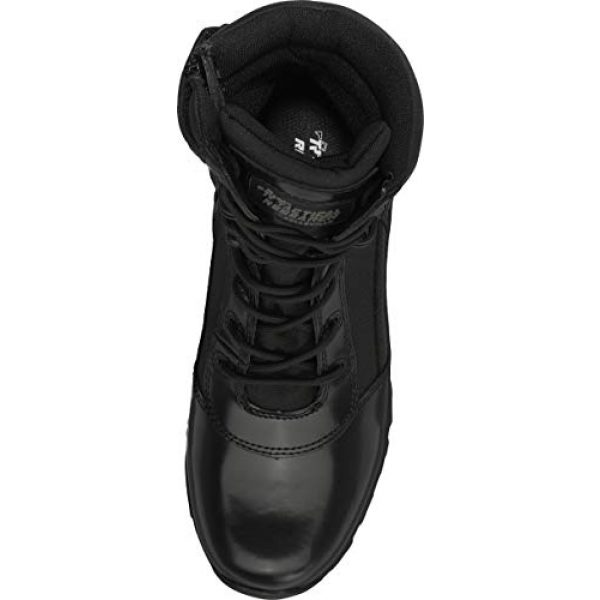 """Belleville Tactical Research TR Combat Boot 6 Belleville Tactical Research TR Men's Class-A TR908Z 8"""" Hot Weather High Shine Side-Zip Boot"""