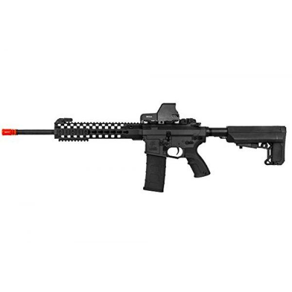 "Lancer Tactical Airsoft Rifle 1 Lancer Tactical M4 Advance Recon Carbine 16"" AEG Airsoft Gun (Black)"