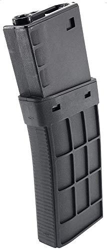 SportPro  1 SportPro CYMA 450 Round Polymer Thermold Waffle High Capacity Magazine for AEG M4 M16 Airsoft - Black