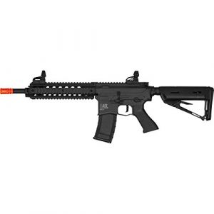 Valken Airsoft Rifle 1 Valken ASL Series M4 Airsoft Rifle AEG 6mm Rifle - MOD-M (Black)