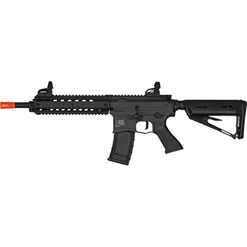 Valken  1 Valken ASL Series M4 Airsoft Rifle AEG 6mm Rifle - MOD-M (Black)