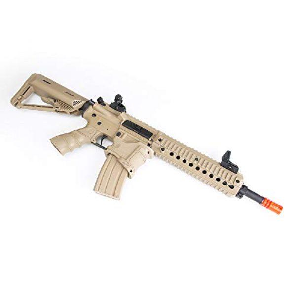 BULLDOG AIRSOFT Airsoft Rifle 3 Bulldog ST Delta QD Airsoft Electric AEG Rifle - Tan