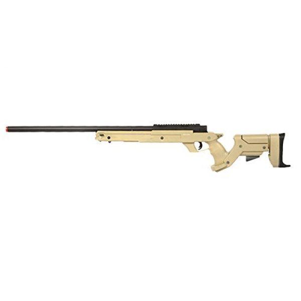 Well Airsoft Rifle 1 Well SR22 Airsoft Sniper Rifle Airsoft Gun (Tan)