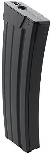 SportPro  2 SportPro 110 Round Metal Medium Capacity Magazine for AEG Galil SAR Airsoft - Black