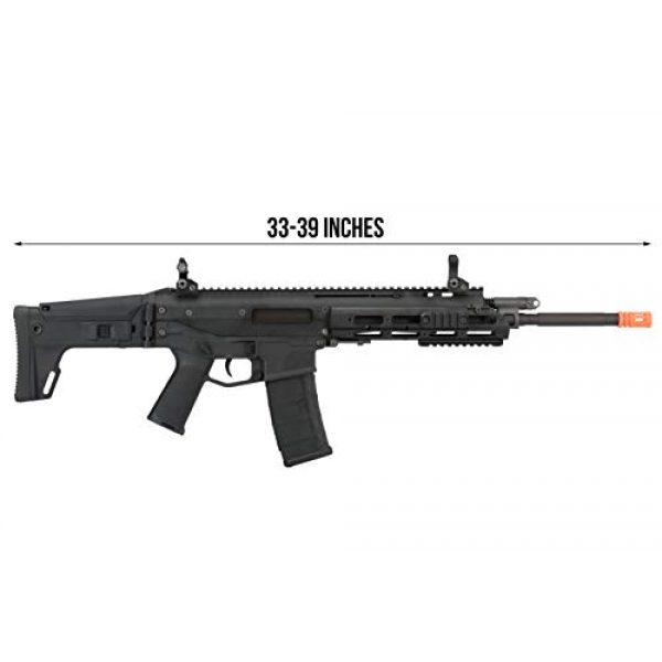 Lancer Tactical Airsoft Rifle 2 Lancer Tactical WE MSK Open Bolt Gas Blowback GBBR Airsoft Rifle Black