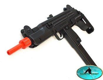 Airgunplace  1 d91 uzi fully automatic electric airsoft sub machine gun(Airsoft Gun)