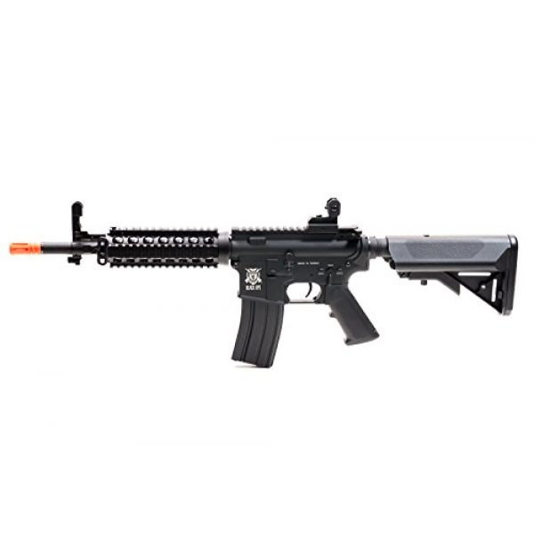 Black Ops Airsoft Rifle 3 Black Ops M4 Diamondback Airsoft AEG Rifle - Automatic Airsoft - Shoot .20 .25