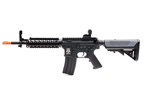 Black Ops  3 Black Ops M4 Diamondback Airsoft AEG Rifle - Automatic Airsoft - Shoot .20 .25