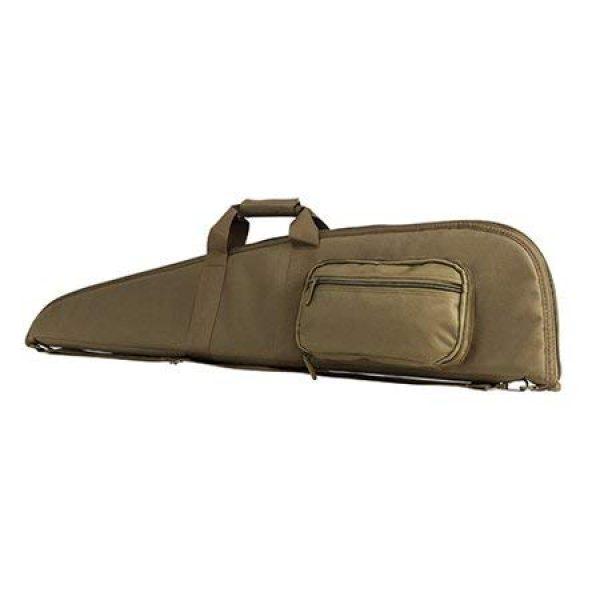 NcSTAR Rifle Case 5 NcSTAR 2906 Gun Case 42in L X 9in H, Tan