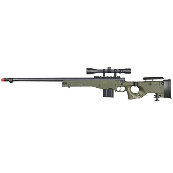 Well Airsoft Rifle 1 Well MB4403 Airsoft Sinper Rifle W/Scope - OD Green