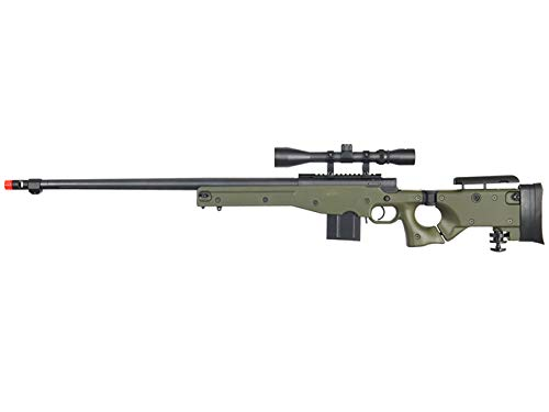 Well  1 Well MB4403 Airsoft Sinper Rifle W/Scope - OD Green