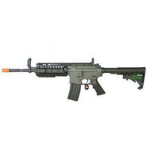 Jing Gong (JG) Airsoft Rifle 1 JG 2010 Version 432 FPS M4 S-System Metal Gear Electric Airsoft AEG