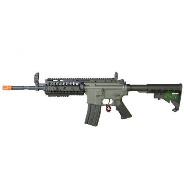 Jing Gong (JG) Airsoft Rifle 1 JG 2010 Version 432 FPS M4 S-System Metal Gear Electric Airsoft AEG