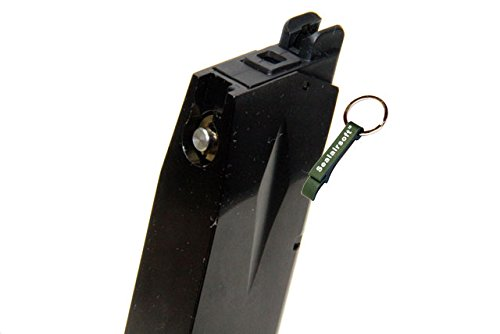 KJW  3 KJ Works 24rds Airsoft Metal 6mm Gas Magazine For P226 KP01 E2 GBB -Mobile Ring Included
