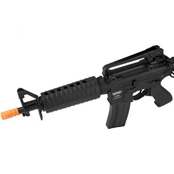 Lancer Tactical Airsoft Rifle 3 Lancer Tactical M933 Commando Proline Airsoft AEG Rifle 350 FPS Black