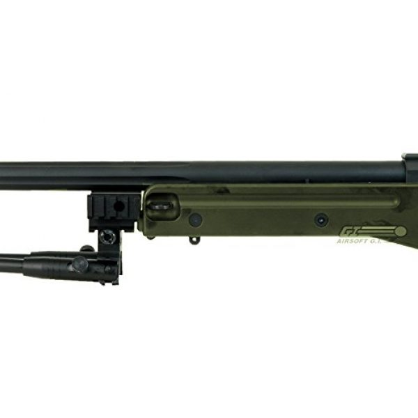 Bravo! Airsoft Rifle 7 Bravo Full Metal MK98 Bolt Action Sniper Rifle (OD/Bipod Package)