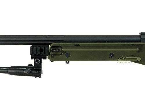 Bravo!  7 Bravo Full Metal MK98 Bolt Action Sniper Rifle (OD/Bipod Package)