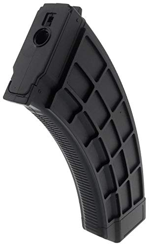 SportPro  3 SportPro 130 Round Polymer Thermold Waffle Medium Capacity Magazine for AEG AK47 AK74 Airsoft - Black