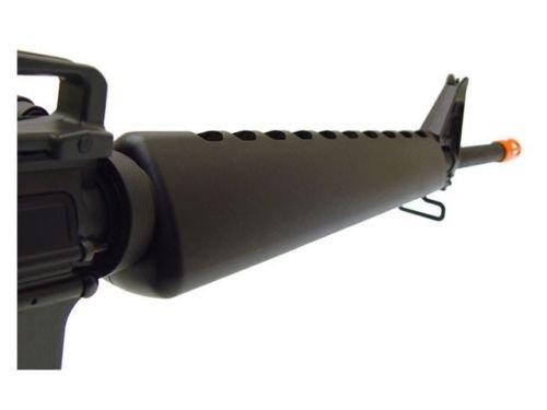 Prima USA  4 jg m16a1 vietnam aeg airsoft rifle with full stock - black(Airsoft Gun)