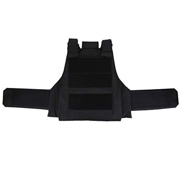 Alomejor Airsoft Tactical Vest 2 1Pc Vest Wear-Resistant Adjustable Vest Guard Waistcoat CS Field Training Protective Vest Campus Accessory