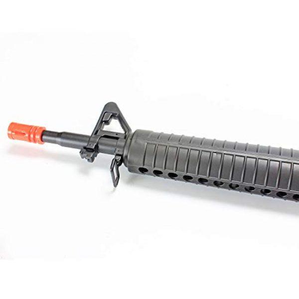 BBTac Airsoft Rifle 3 BBTac M16-A1 Vietnam Model Spring Action Assault Rifle, Black (BT-M16A1_(a))