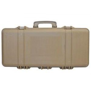 SRC Rifle Case 1 SRC Tan Foam Padded Plastic Airsoft Rifle Gun Case