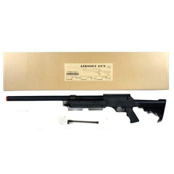 Well Airsoft Rifle 3 470 fps wellfire aps sr-2 modular full metal bolt action sniper rifle mb06a(Airsoft Gun)